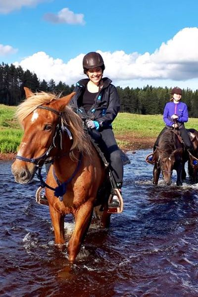 Summer fun with horses